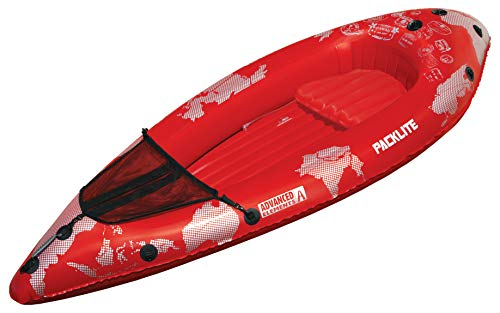Advanced Elements Pack PackLite Kayak, Unisex Adulto, Rojo, 240 x 90 cm