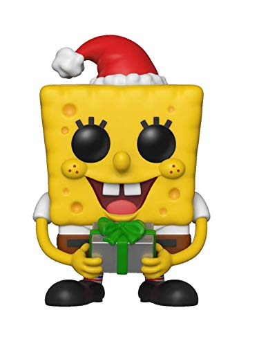 Funko - Zapatillas Pop Squarepants: Spongebob Xmas S2: Holiday, Multicolor, 33923