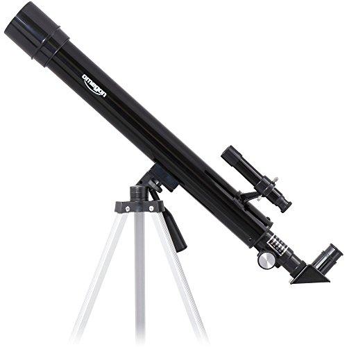 Omegon AC 50/600 AZ, telescopio de Lentes con Apertura de 50 mm y 600 mm de Distancia Focal