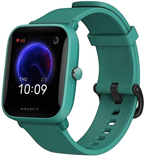 """Amazfit Bip U Smartwatch Fitness Reloj Inteligente 60+ Modos Deportivos 1.43"""" Pantalla táctil a Color Grande 5 ATM (SpO2) Oxígeno en Sangre Frecuencia Cardíaca"""