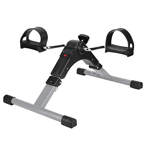 PBOHUZ Mini Cycle-Mini Practical Trainer Bicicleta Ejercitador de piernas Plegable Fitness Stepper Equipo de Entrenamiento Interior