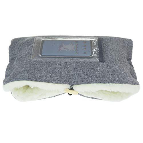 Handwarmer voor kinderwagen, mof met fleece binnenzijde voor herfst en winter lamswol [073] Lamswol Len