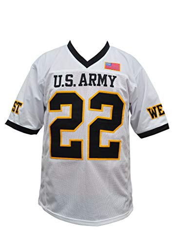 Beckham Army Football Jersey Stitch All True Size (44) White