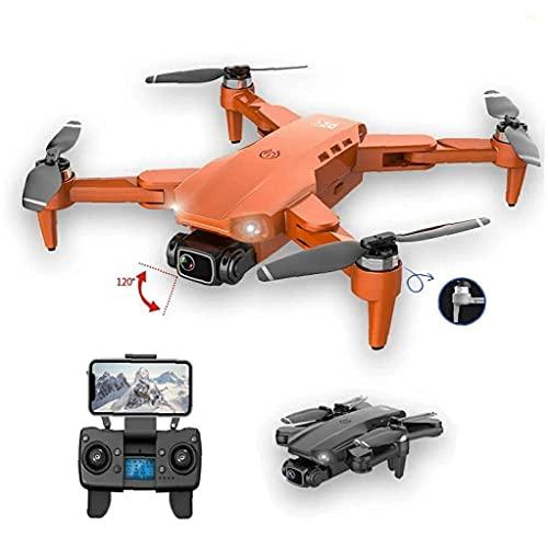 JJDSN Mini Drone Quadcopter Plegable 4K HD Cámara GPS RC Drone con 1 batería Gris