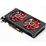 Scheda Grafica Gaming Graphics Card Fit for XFX Scheda Video RX 560 4 GB GDDR5 128Bit RX 560D Schede Grafiche AMD for RX 500 Schede VGA Serie RX560 570 460 580 470 480 (Color : Style B)