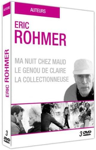 Éric Rohmer : Ma nuit chez Maud + Le genou de Claire + La collectionneuse [Francia] [DVD]