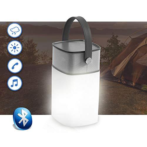 Icamp Enceinte éclairée LED Bluetooth extérieur. Camping