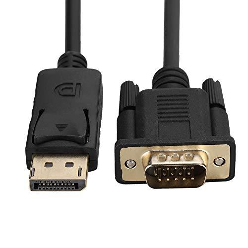 DAUERHAFT Cable adaptador de DisplayPort a VGA Mini DisplayPort DP a VGA...