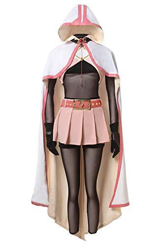 Bilicos Madoka Magica Side Story Iroha Cosplay Kostüm Damen XL
