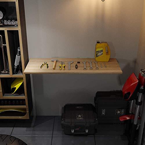 Need Wandklapptisch Küchentisch Esstisch Esszimmertisch,klappbar,aus Holzwerkstoffen für Küche,120 x 50 cm, AC15BB