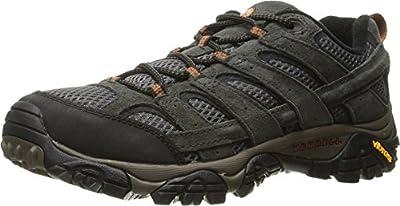 Merrell Men's Moab 2 Vent Hiking Shoe, Beluga, 10 2E US