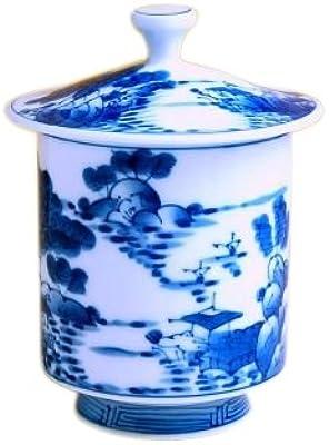 湯のみ 蓋つき 湯飲み おしゃれ 有田焼 波佐見焼 山水 大 ゆのみ茶碗 日本製