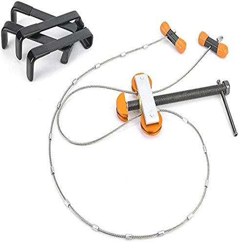 hengguang Bogenschießen Tragbare Bogenpresse Kompakte Bogenpresse Saitenwechsler, Werkzeug Zum Ersetzen Der Bogenschnur Für Guckloch Orange