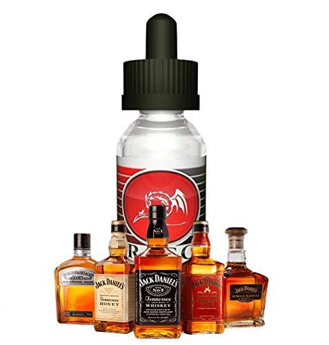 DRAGON Whisky DIY Liquid Longfill e-Liquid Shake and Vaape e Líquido (70% VG/30% PG, para mezclar con base líquida para cigarrillo electrónico, 0 mg nicotina), 100 ml