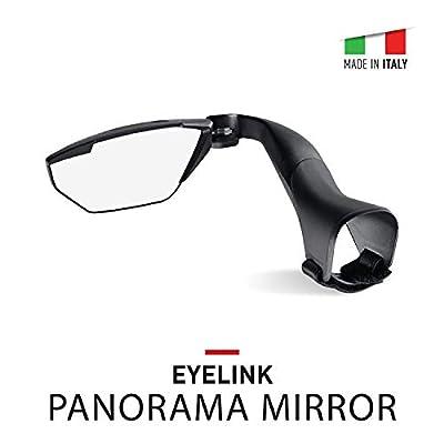 Selle Italia Eyelink Italian Road Bike Mirror - Handlebar Rear View Mirror for Bicycles