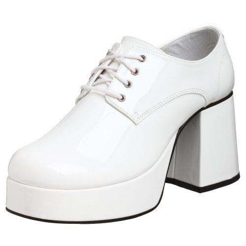 Pleaser JAZZ-02, Herren Oxfords, Weiß (White), 44 EU (11/12 UK)