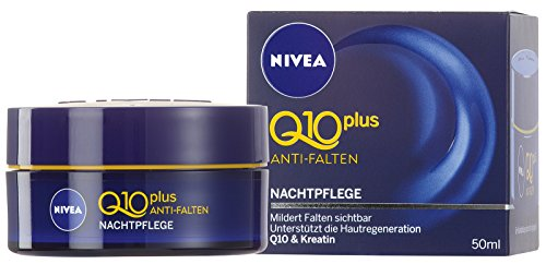 Nivea Q10 Plus Anti-Falten Nachtpflege, 1er Pack (1 x 50 ml)