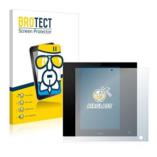 BROTECT AirGlass Premium Glasfolie für Zipato ZipaTile Z-Wave Zigbee Gateway (extrahart, ultradünn, hochtranzparent, Anti-Fingerprint, flexibel)