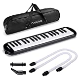 CAHAYA Melodica 37 Keys Pianica FDA Approved with Long Pipe Short Mouthpiece