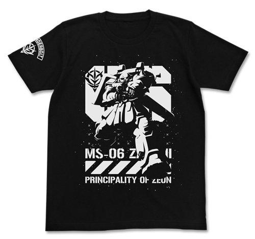 機動戦士ガンダム サンダーボルト ザク Tシャツ ブラック Lサイズ