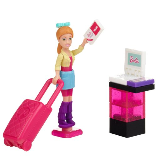 Mega Bloks Barbie Vacation Time Summer