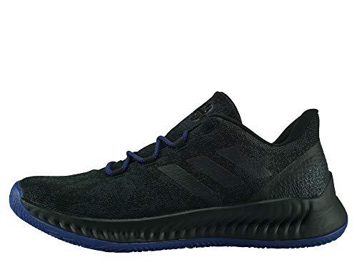 Adidas Harden B/E X, Zapatillas de Baloncesto Hombre, Multicolor (Negbás/Azneme/Azuact 000), 43 1/3 EU