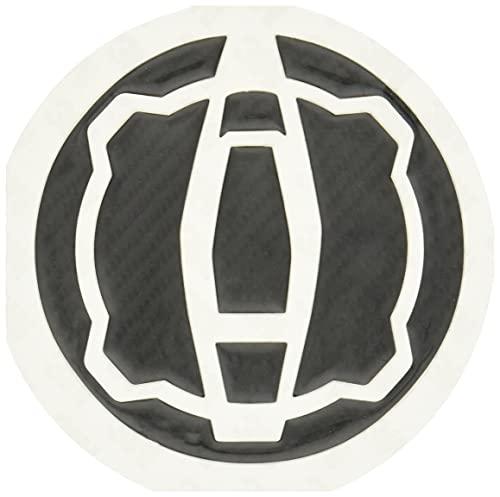 デイトナ バイク用 傷防止シール タンクキャップパッド ポッティングタイプ カワサキ3(Ninja250) カーボン調 99145