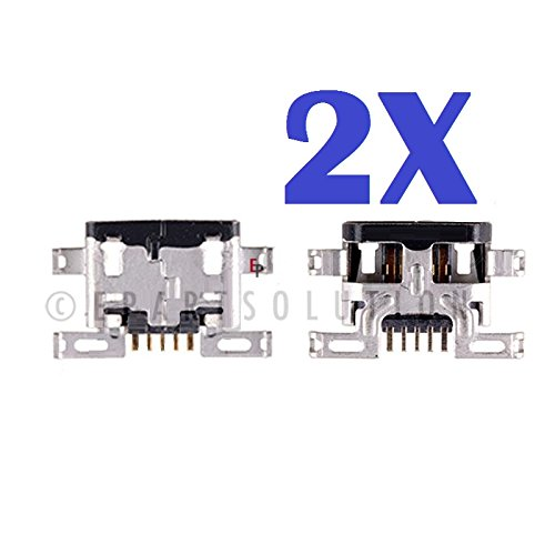 ePartSolution_2X Motorola Droid Turbo XT1254 USB Charger Charging Port Dock Connector USB Port Replacement Part USA