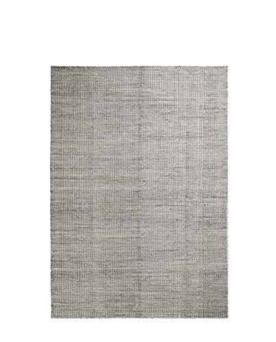 HAY - Moiré Kelim Teppich 170 x 240 cm, grau