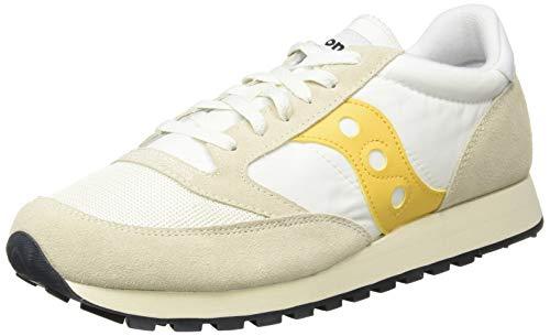 Saucony Jazz Original Vintage, Sneakers Unisex-Adulto, Cement Yellow 36, 42 EU