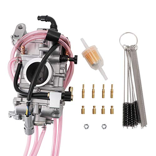 KIPA Carburetor For Yamaha WR250 WR250F YZ250F 2001-2013 FCR38 FCR 38mm Performance Flat side Carb Replace # 5XC-14101-G0-00