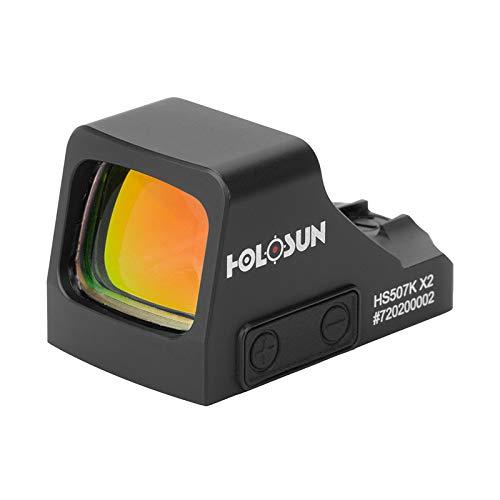 Holosun HS507K-X2 Micro Ottica di puntamento Red DOT Ottica Reflex Punto Circolare, Ottica Reflex, Doppio Reticolo, DOT 2MOA, Circle 65MOA, Serie Classic per Caccia, tiro sp… - 70149074