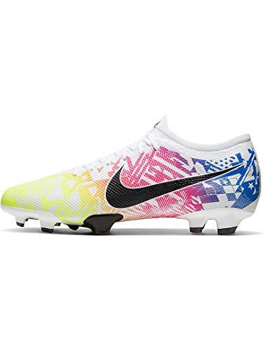 Nike Vapor 13 Academy NJR FG, White-rainbow, 10