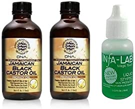 My DNA Jamaican Black Castor Oil - Monoi Oil 4 oz (2pcs&INFA LIQUID)