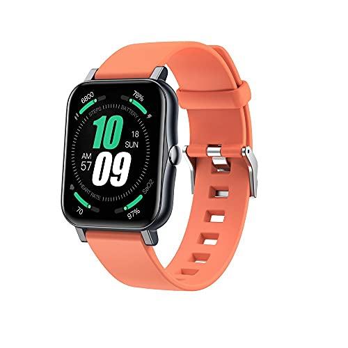 Reloj inteligente ultrafino con temperatura corporal sana para dormir Ip68, resistente al agua, pantalla cuadrada, reloj inteligente, pantalla táctil completa, deportivo, apto para uso diario