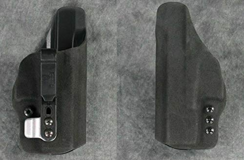 HSP Haley Strategic G-Code Incog Eclipse Full Guard IWB Tuckable Holster with Brushed Aluminum Super Mojo (for Glock Gen1-4 19 23 32, Right)