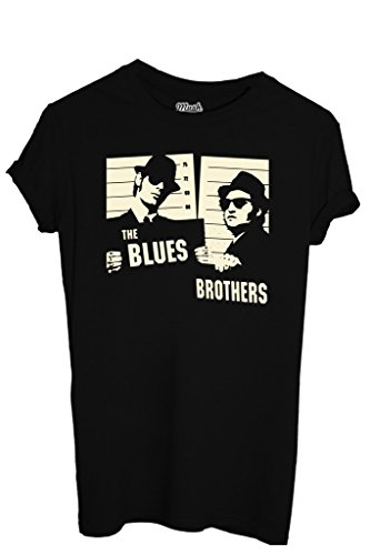 MUSH T-Shirt The Blues Brothers - Film by Dress Your Style Uomo-XL