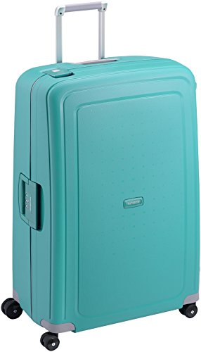 Samsonite S'Cure - Spinner XL Suitcase, 81 cm, 138 Litre, Aqua Blue