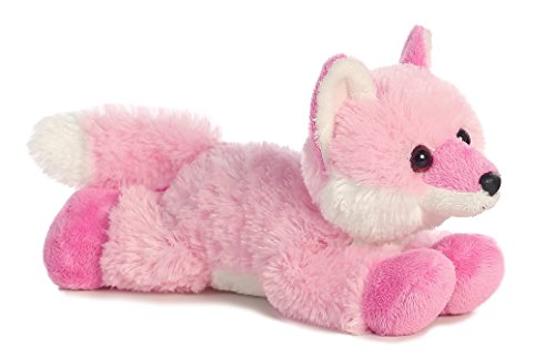 Aurora Strawberry Pink Fox Mini Flopsie...