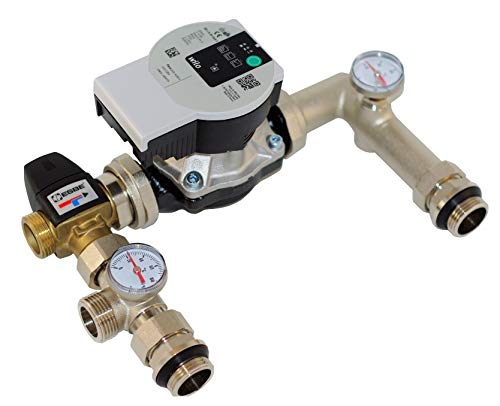 Festwertregelset Pumpengruppe für Fußbodenheizung bis 125 m2 1