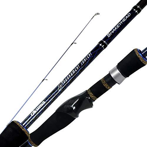 Okuma Tournament Concept TCS Lightweight Carbon Bass Rods- TCS-S-701Ma+