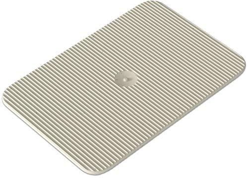INNONEXXT® Premium Unterlegplatten | 60 x 40 mm, 1,5 mm weiß - 250 Stk. | Abstandshalter, Plättchen aus Kunststoff, Distanzplatten, Klötze, Unterlegklotz, Distanzhalter | Tragfähigkeit bis 5 t