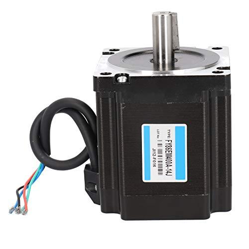 Motor paso a paso NEMA34 86, 2 fases 1.8 ° Ángulo de paso 6 Nm Motores de impresora 3D de alto par Tipo de chavetero FY86EM400A ‑ 14J