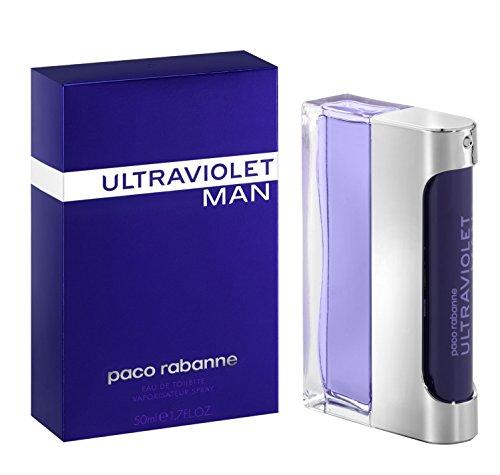 Paco Rabanne Ultraviolet homme / men, Eau de Toilette, Vaporisateur / Spray 50 ml, 1er Pack (1 x 50 ml)