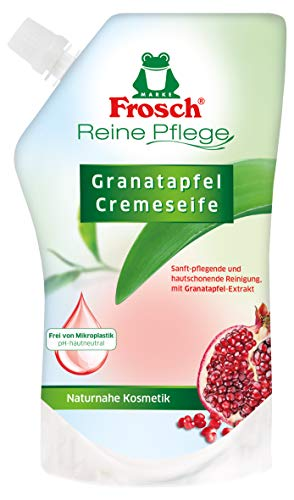 Frosch Handseife Granatapfel Nachfüller, 6er Pack (6 x 500 ml)
