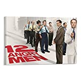 JIAWEI 12 Angry Men Oscar American Movie Poster Movie