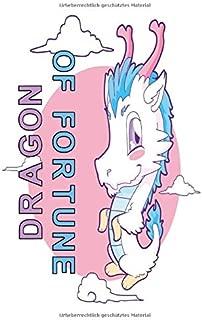 Notizbuch Dragon of Fortune: Notizbuch 120 linierte Seiten Din A5 perfekt als Notizheft, Tagebuch und Journal Geschenk für Drachengeborene und Glücksmenschen (German Edition)
