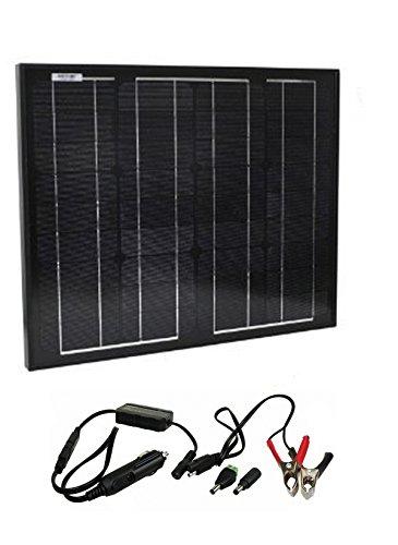 Instapark 30-watt Solar-powered Battery Charger for Instapark Mars20S & Wagan Power Dome Series