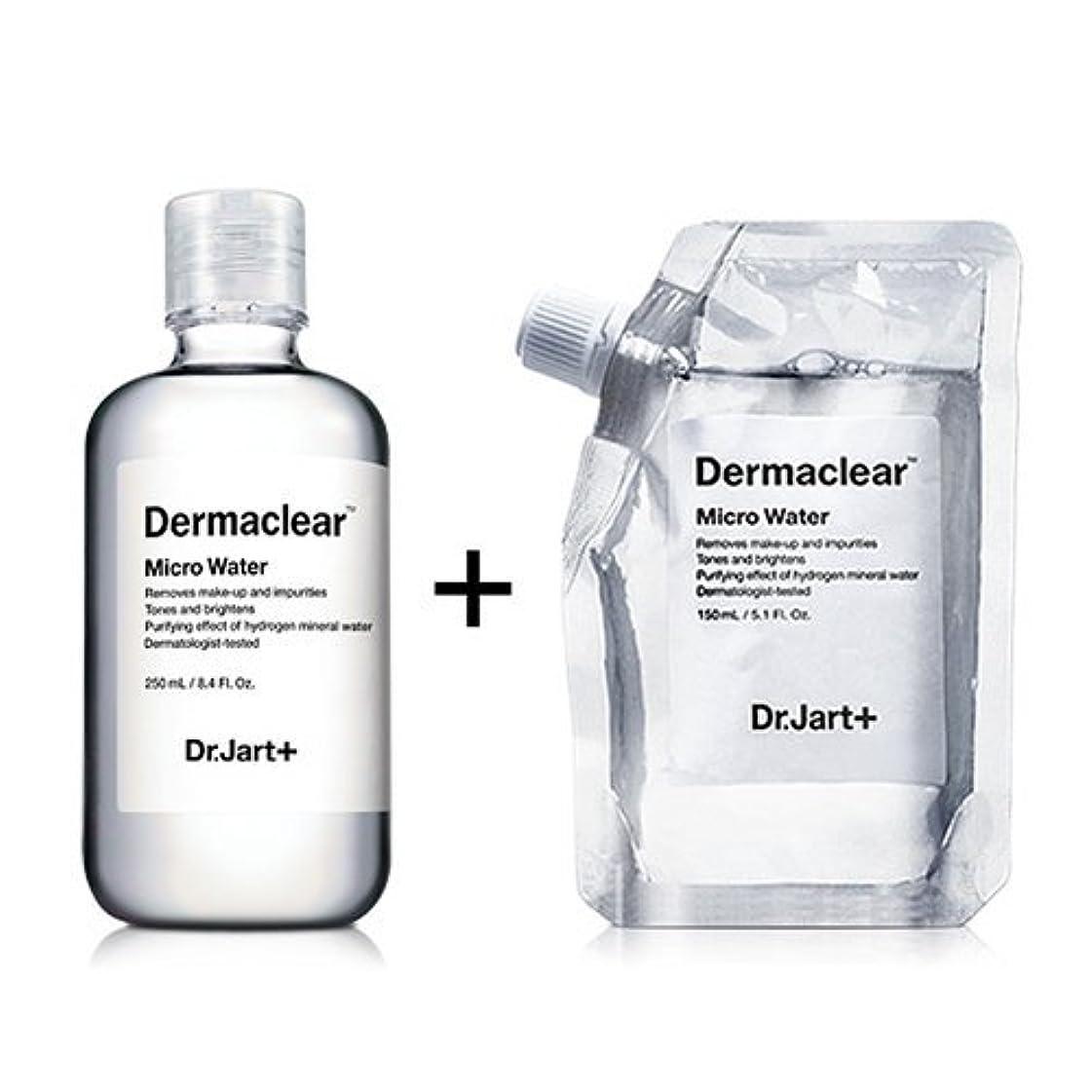 悪因子影代替案ドクタージャルト[韓国コスメ Dr.Jart+]ダーマクリア マイクロ ウォーター250ml+150ml(リフィル) [Dr.Jart+]Dermaclear Micro Water (250ml+150ml)