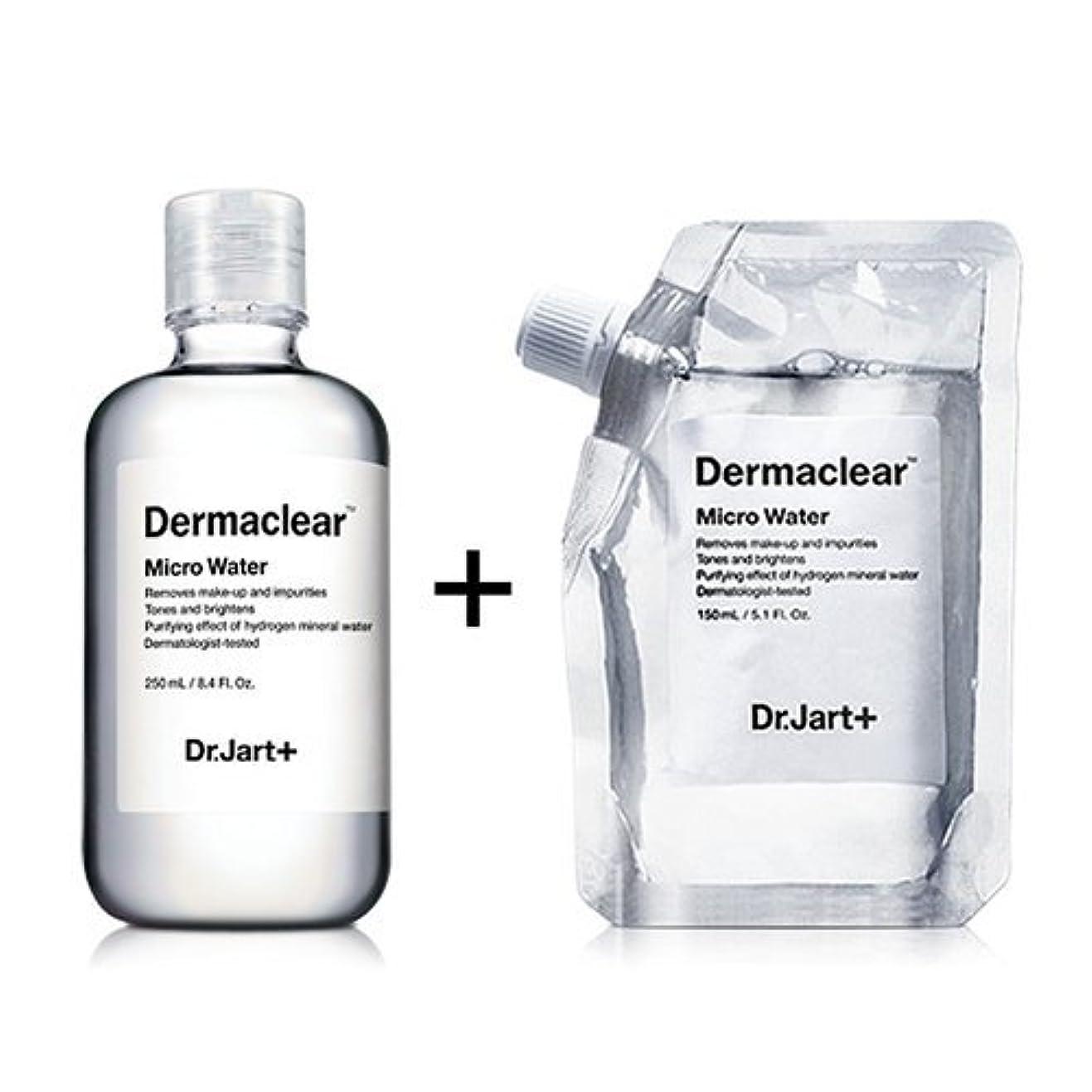 ようこそ気球おびえたドクタージャルト[韓国コスメ Dr.Jart+]ダーマクリア マイクロ ウォーター250ml+150ml(リフィル) [Dr.Jart+]Dermaclear Micro Water (250ml+150ml)